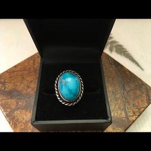 Erling Vintage Navajo Silver Ring